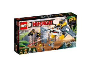 THE LEGO® NINJAGO® Movie™ Manta Ray Bomber #70609