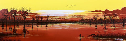 Dusty sunset wetherell half price SOLD