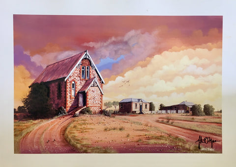 Silverton Catholic Church print