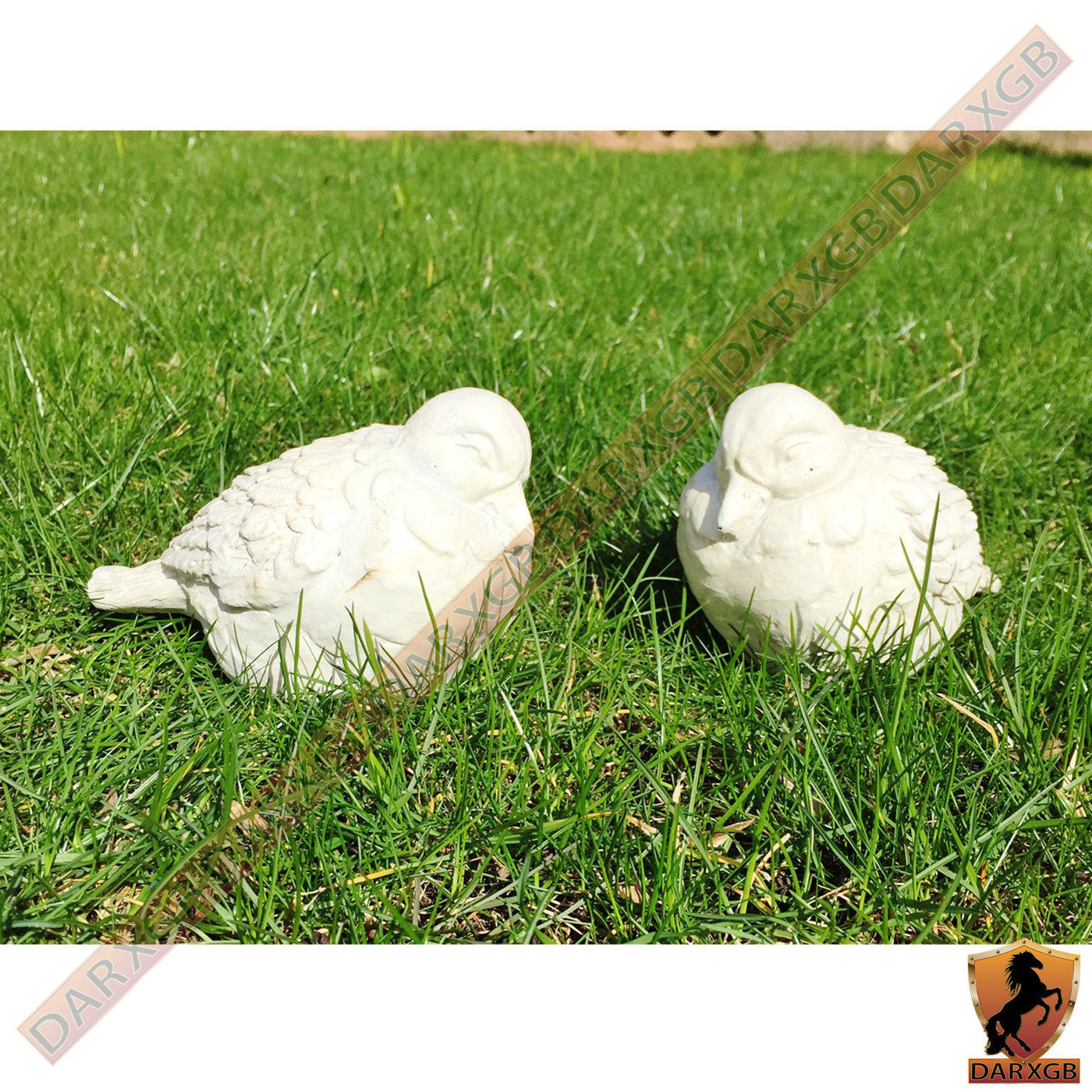Bird Ornament Resin Eagle Figurine Decoration Gift for Outdoor Garden Lawn