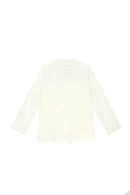 VARDI - SHIRT - NATURAL WHITE