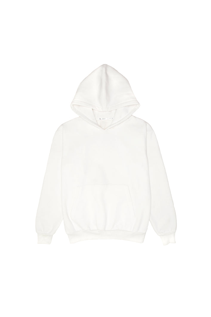 All White - Heavyweight 360 - Hoodie