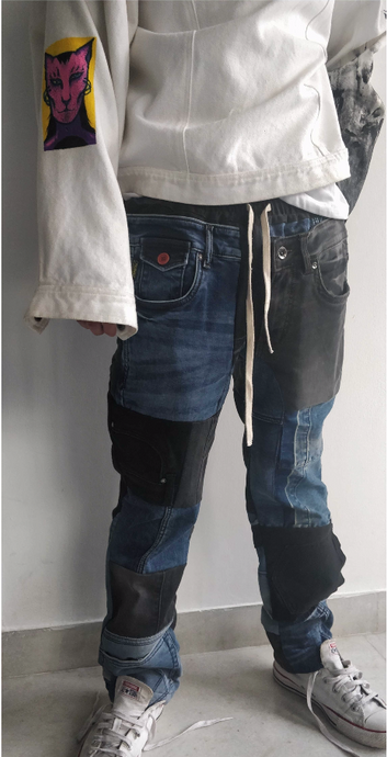 TANK ROAD - DUKAAN PANTS (with side-bag)