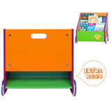 Kid Bookshelf with Wheels, Green Owl Wood Bookshelf for Kid 1 Year Up - Labebe