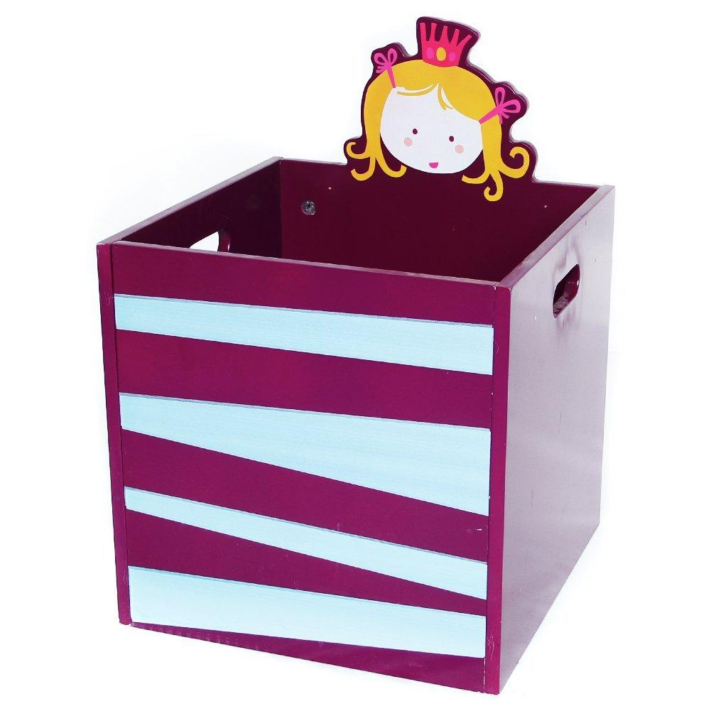 Kid Furniture Toy Storage Wooden Toy Box, Storage Basket perfect for Toy Storage - Labebe
