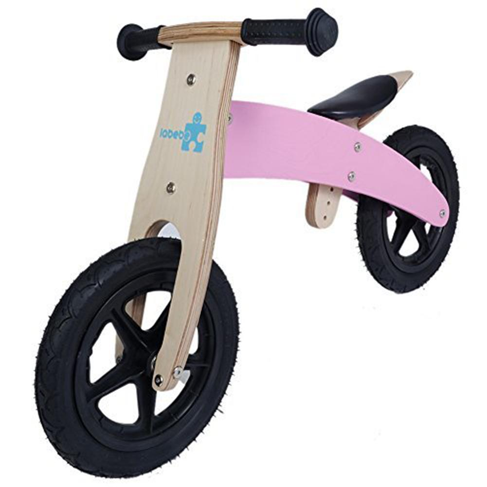 Kid's Balance Bike, Pink Balance Bike with Adjustable Seat, Smart Balance Bike for kids aged 18 month-3 year - Labebe