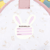 Toddler Backpack with Harness, Pink Backpack with Bunny, Lovely Backpack for Kid of 1-3 Years - Labebe