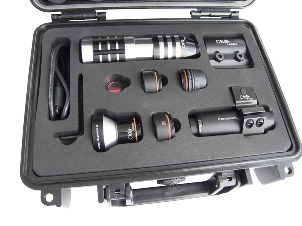 OKO Suisse Camera Set Black (Panasonic HX-A1 included)