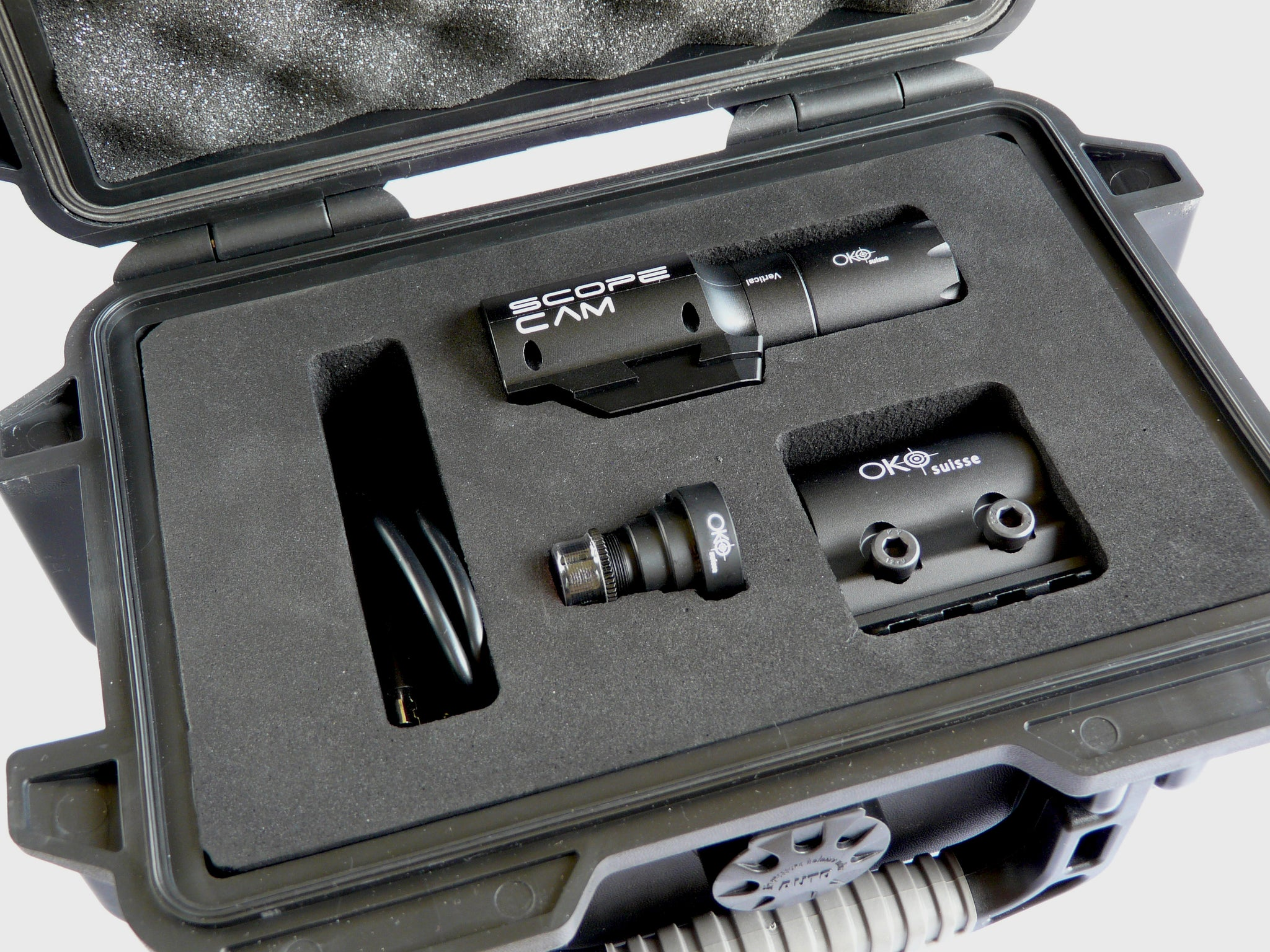 OKO Suisse II Camera Set Black (ScopeCam included)