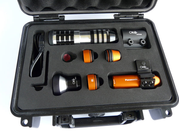 OKO Suisse Camera Set Orange (Panasonic HX-A1 included)