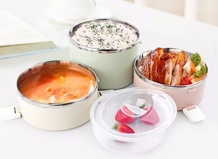 DeluxeBox™ Premium Microwavable LunchBox