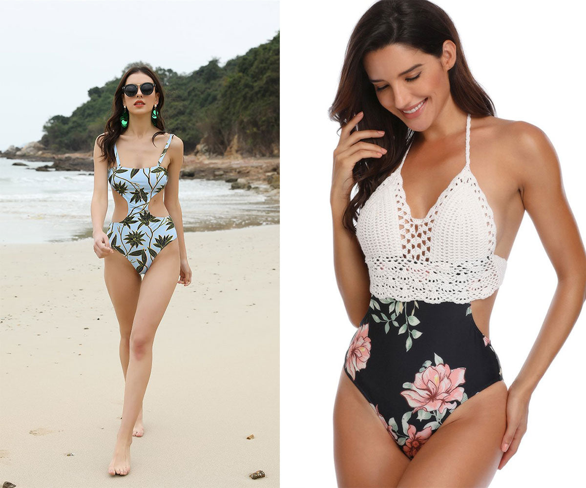 Floral Bathing Suit and One Piece Swimsuit | Joymode®