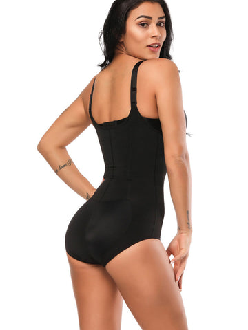 Fetchshe Full Body Shaperwear | Zip Up Bodysuit Underwear | Shaping Panty