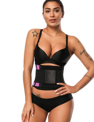 Ultra Latex Waist Slimming Belt Honeycomb Panel Push Up - Fetchshe