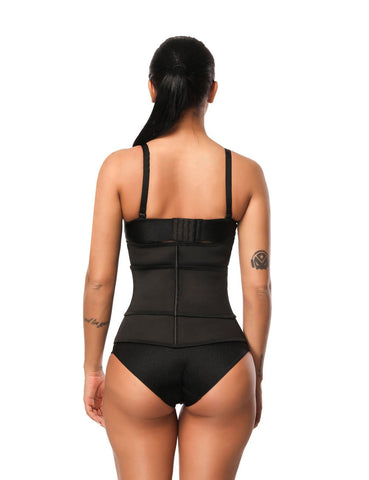 Fetchshe Plus Size 7 Steel Bones Latex Waist Shaper
