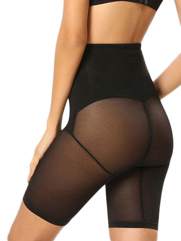 Fetchshe Women's Waist Double-Layered Mesh Butt Lifter