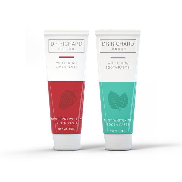 Peppermint Charcoal & Strawberry Toothpaste Bundle