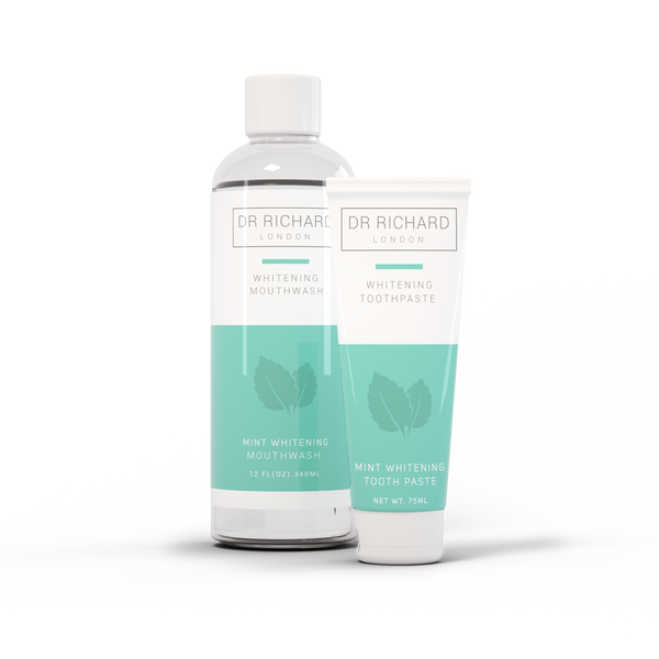 Peppermint Charcoal Toothpaste & Mouthwash Bundle