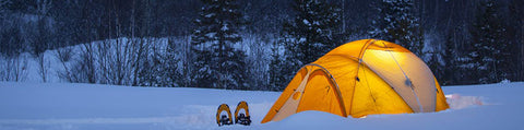 Beautiful winter camping destinations in the US.