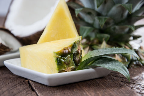 Cooling Foods for Baby and Toddler Pineapple