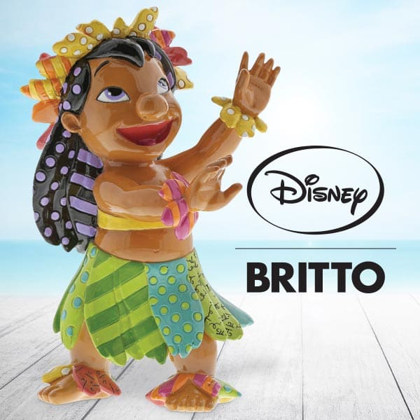 Disney Britto Collection  launches new Lilo and Stitch themed figurine.