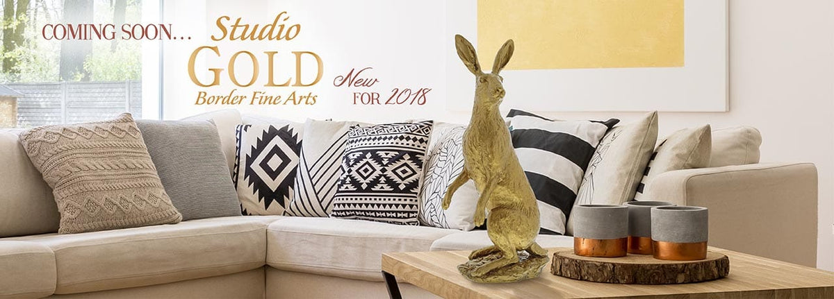Coming Soon — Studio Gold from Border Fine Arts