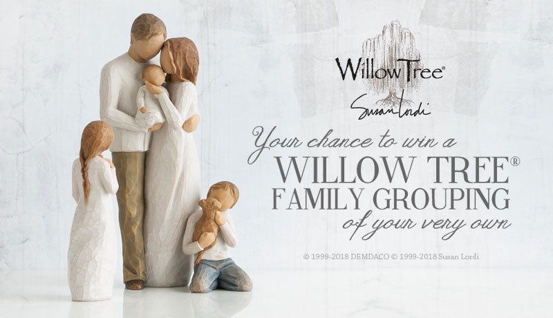 Your chance to WIN a Willow Tree Family Grouping