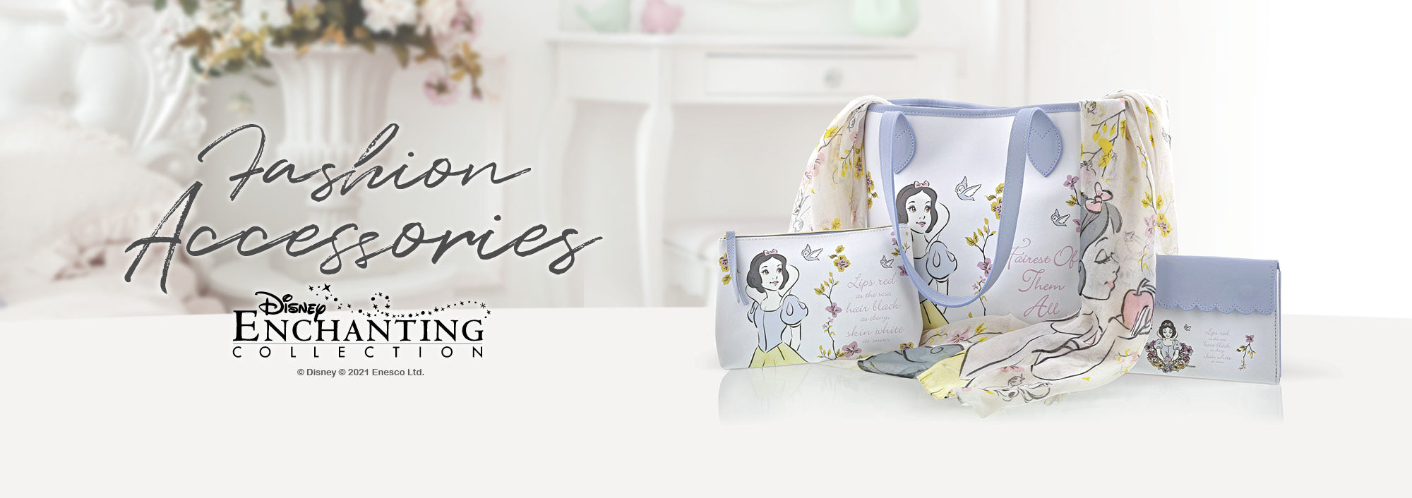 Disney Enchanting Fashion Accessories Collection