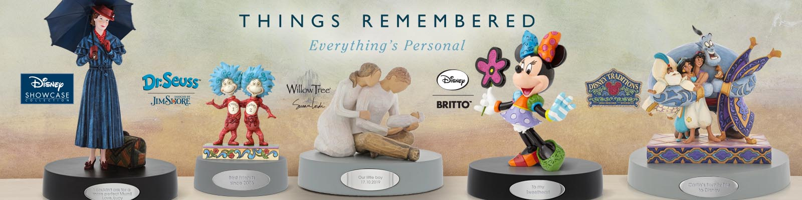Things Remembered page banner