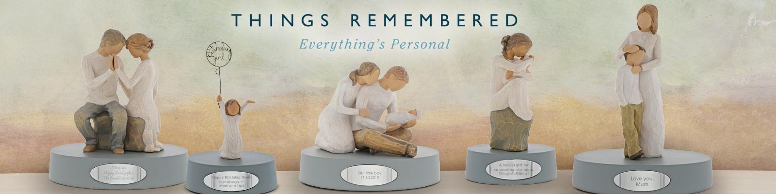 Things Remembered header banner