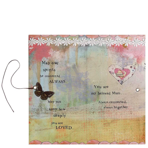 Kelly Rae Roberts Mum Angel Gift Card