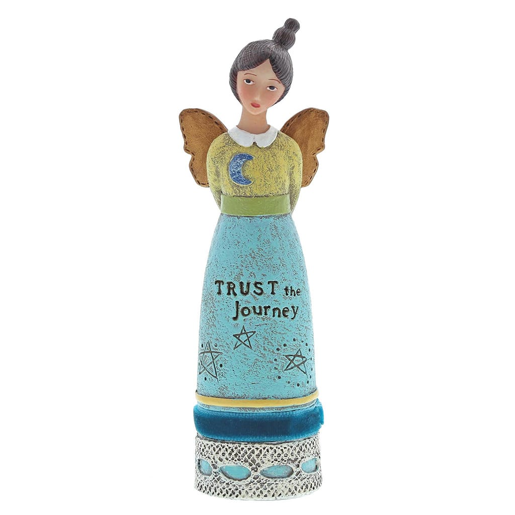 Kelly Rae Roberts Trust The Journey Inspiration Angel Figure