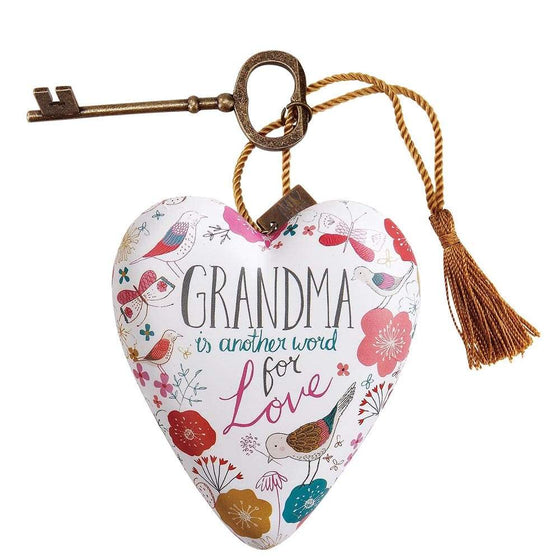 Demdaco Art Hearts Grandma  Art Heart