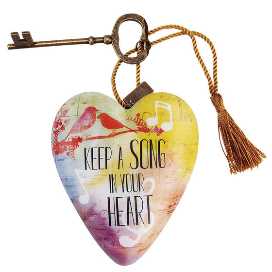 Keep a Song in Your Heart Art Heart