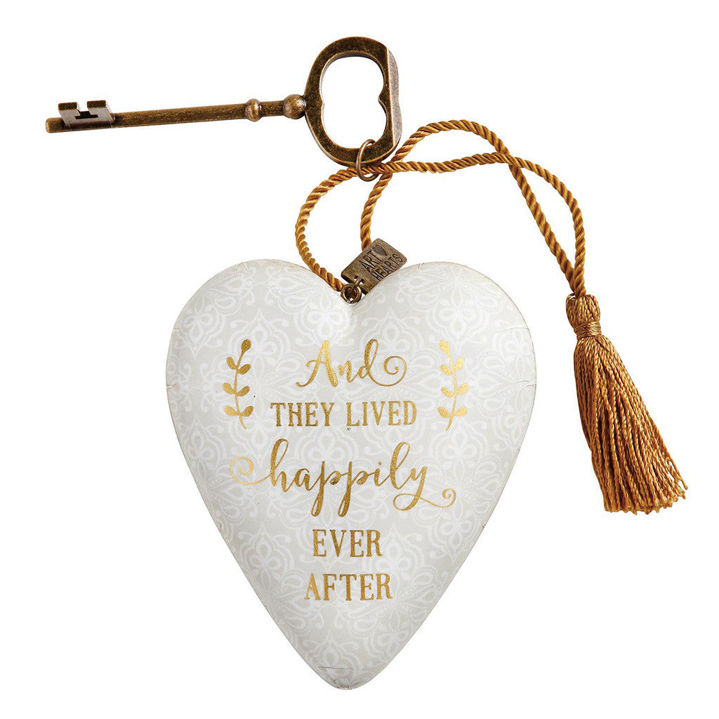 Demdaco Happily Ever After Art Heart