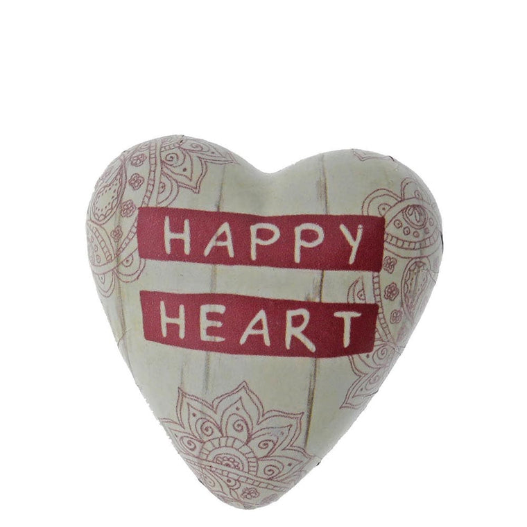 Demdaco Happy Heart Art Heart Token