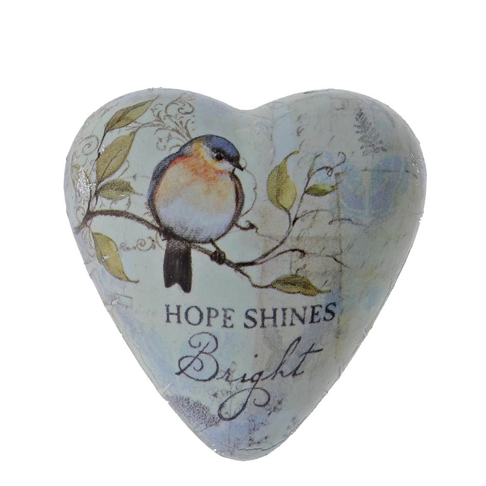 Demdaco Hope Shines Bright Art Heart Token