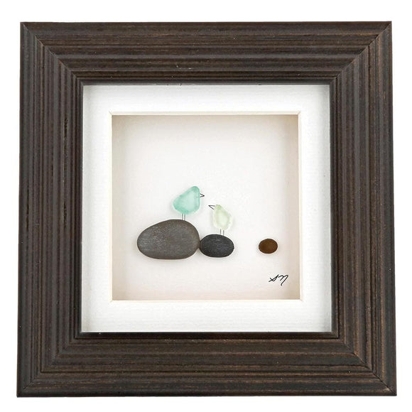 The Sharon Nowlan Collection Once Upon a Pebble 15cm x 15cm