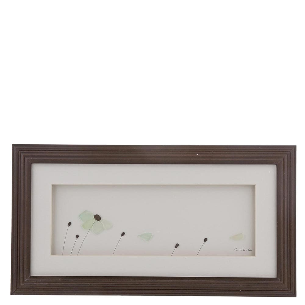 The Sharon Nowlan Collection Petals in the Wind Framed Picture 20cm x 38cm