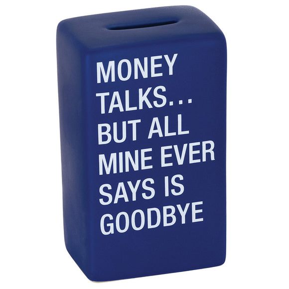 Money Talks Ceramic Money Bank