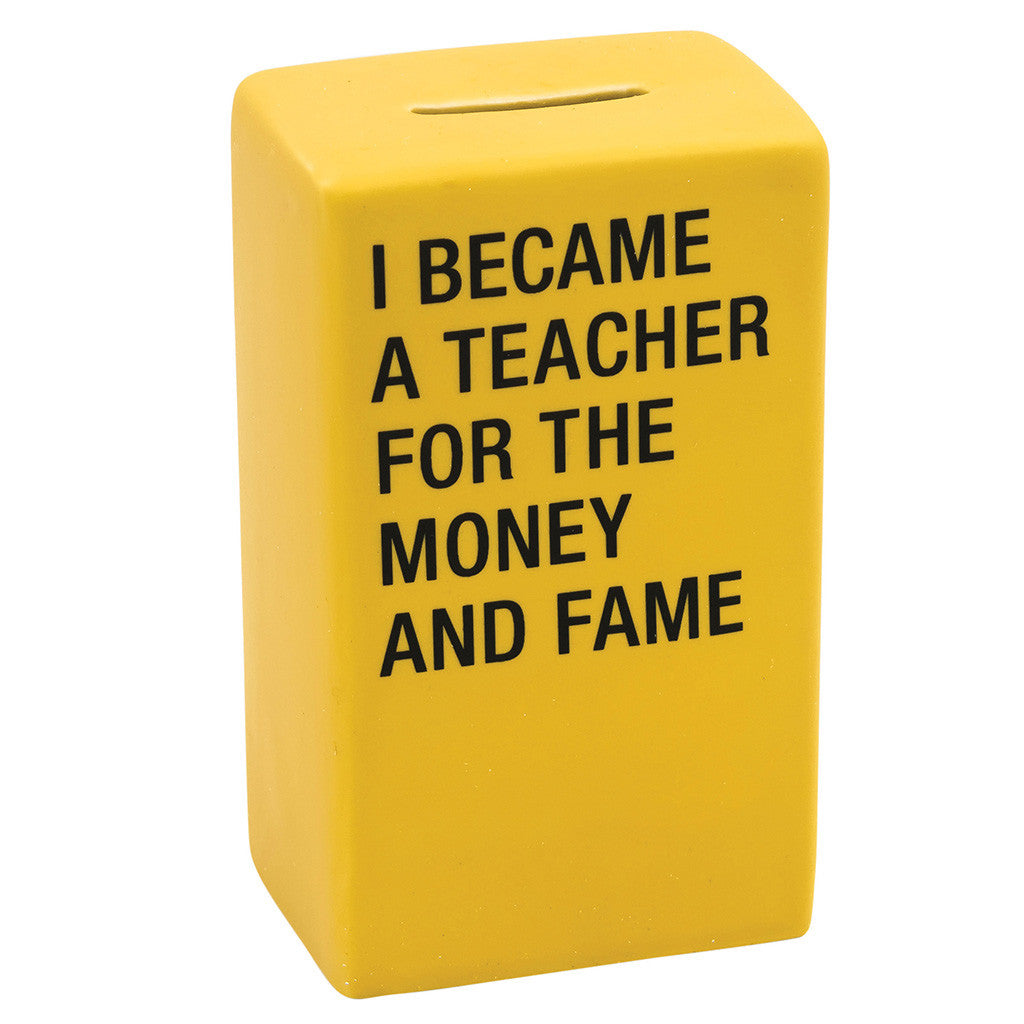 Teacher Ceramic Money Bank