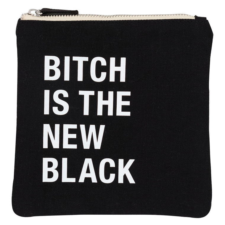 Bitch is the New Black Cosmetic Bag