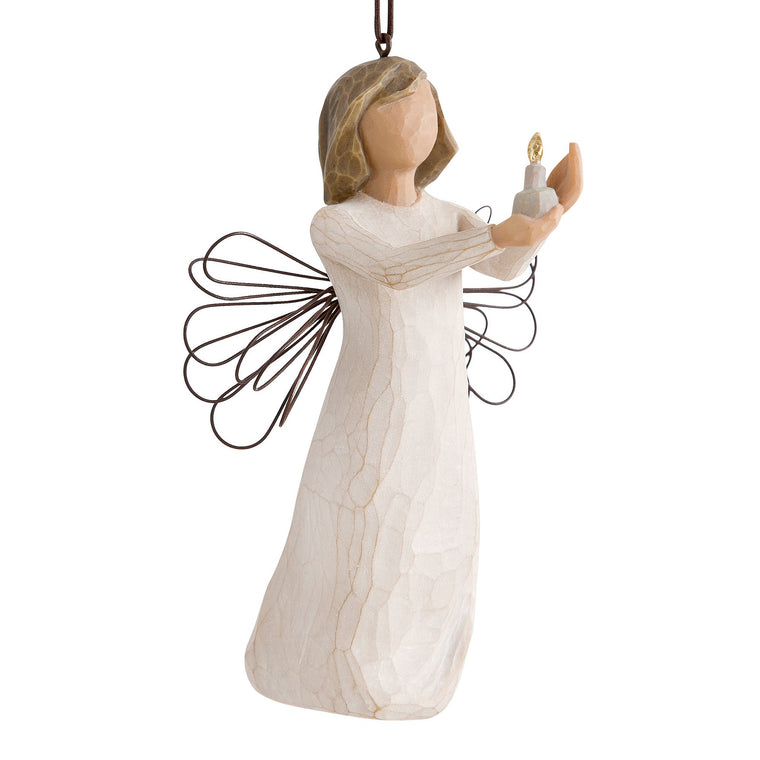 Angel of Hope Ornament by Willow Tree