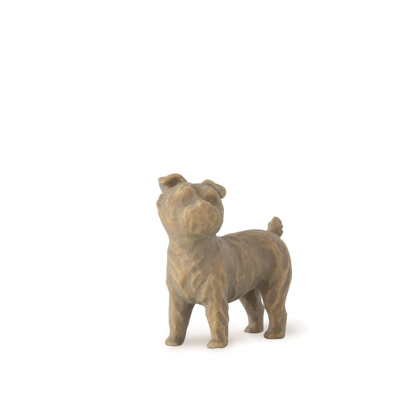 Willow Tree Love my Dog (small, standing) figurine