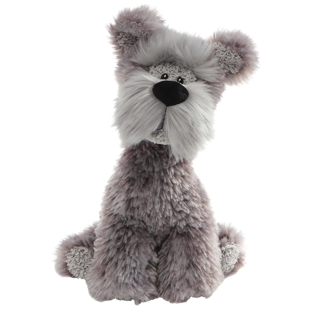GUND Bentley Grey Wire Hair Super Cute Terrier Dog Soft Toy