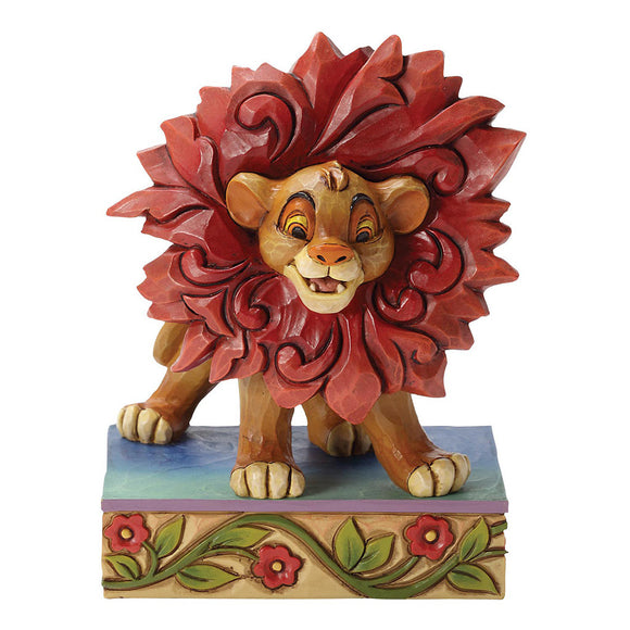 Disney Traditions Just Can't Wait To Be King (Simba Figurine)
