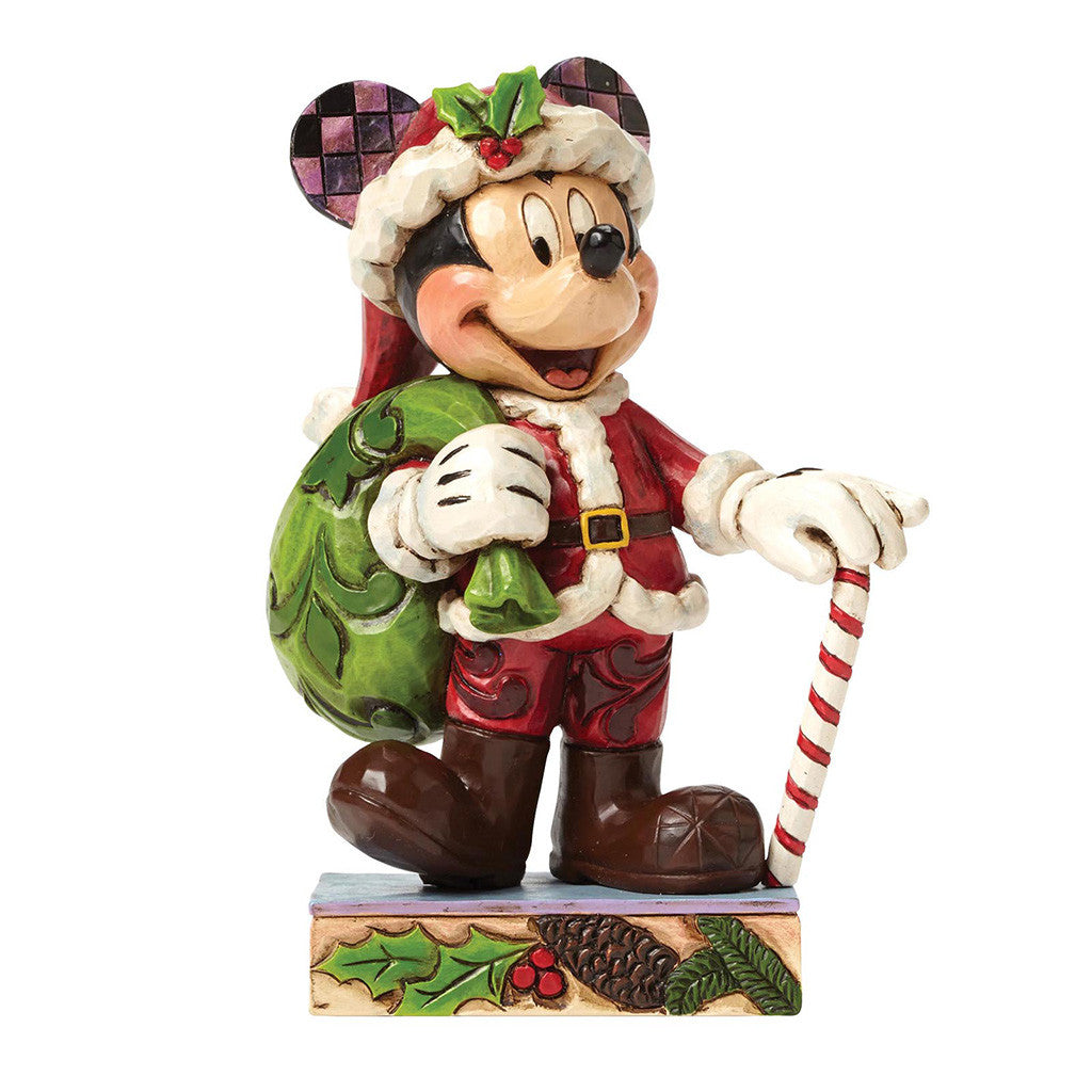Disney Traditions Holiday Cheer for All (Mickey Mouse Figurine)