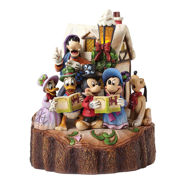 Disney Traditions Holiday Harmony (Mickey Mouse & Gang Carolling Figurine)