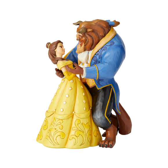 Disney Traditions Moonlight Waltz (Belle and Beast) Figurine