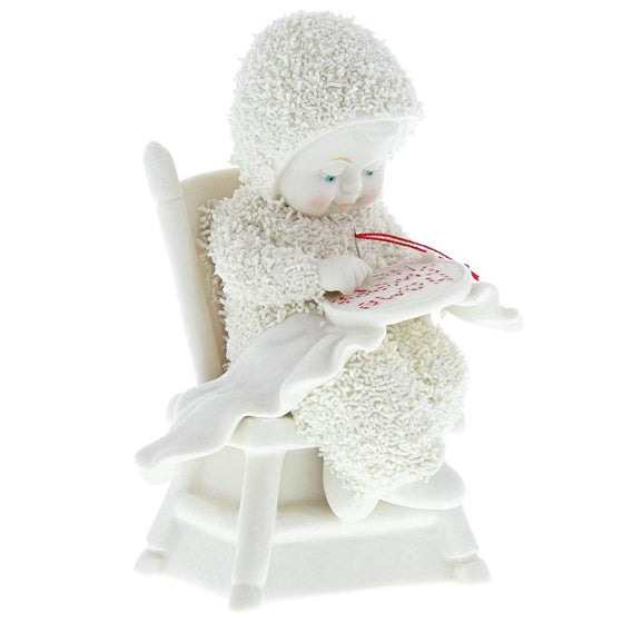 Snowbabies Just Like Grandma Taught Me Figurine